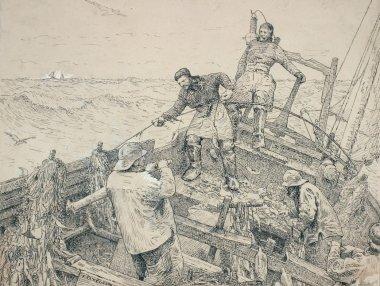 Jean-Louis GAUCHER « Les bateaux et la pêche à Berck»
